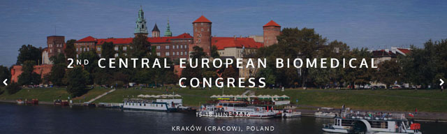 2nd Central   European Biomedical Congress (CEBC) - June 15-18 2016,  Kraków (PL)