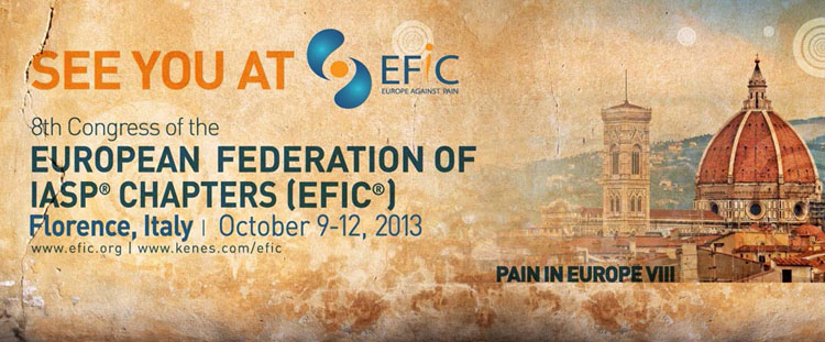 8th Congress EFIC - Pain In Europe